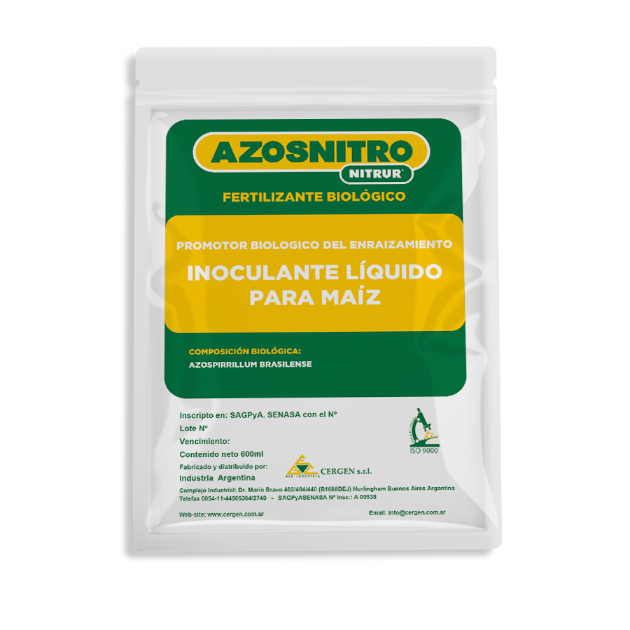 Nitrur Azosnitro MAIZ Inoculante Liquido Cergen 01